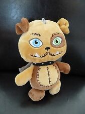 G6- DOUDOU PELUCHE CHIEN MONSTER HIGH GIPSY 21CMS MARRON BEIGE AILES - NEUF *