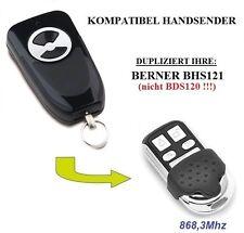 BERNER BHS121 kompatibel handsender, Ersatz 868,3 MHz, KLONE fernbedienung