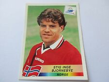 Sticker PANINI World Cup FRANCE 98 N°73 Norge Stig Inge Bjornebye