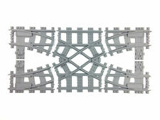 Lego train track - Lego 7996 double crossover custom made 3d printed!