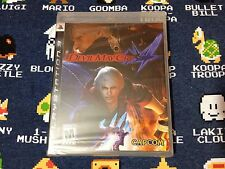 Devil May Cry 4 BLACK LABEL BRAND NEW SEALED  (Sony PlayStation 3, 2008)
