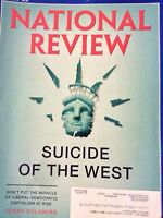 National Review Magazine Suicide Of The West April 30, 2018 120418nonrh