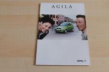 80413) Opel Agila Prospekt 06/2000