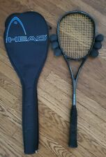Head Titanium Ti 140 G Squash Racquet Power Zone (with Case & 6 balls)
