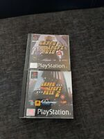 Grand Theft Auto - Limited Edition & GTA 2 PS1 RARE job lot playstation 1