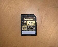 SDXC Panasonic HC-W570EG-K Camcorder Memory Card 2X 64GB Secure Digital Class 10 Extreme Capacity 2 Pack Memory Card