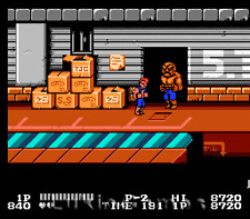 Double Dragon - Classic Fun NES Nintendo Action Game