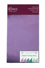 Pastels Rinea Foiled Paper Variety Pack - Crafter's Pack
