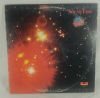 """1973 Manfred Mann's Earth Band """"Solar Fire"""" Vinyl LP Record Rock Complete Tested"""
