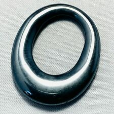 Genuine Grey Hematite Hoop 35ct 30x25mm