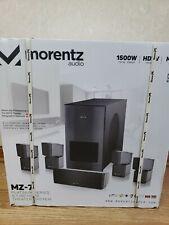 1500 W Morentz Audio MZ-7 Platinum Series 5.1 HD Home Theater System HDTV MP4