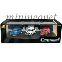 CARARAMA 71310M MINI COOPER 1/72 3 CARS SET BLUE / WHITE / RED