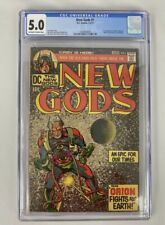 New Gods #1 CGC 5.0 1971 DC Comics 1st Appearance of Orion High-Father Lightray
