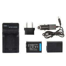 2pcs NP-FW50 Battery + Charger for SONY NEX-3N NEX-5T NEX-6 NEX-7 A5000 A6000 A7