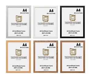 A4 Frame Photo Picture Frames Black Frames White Frames A4 Certificate Frames