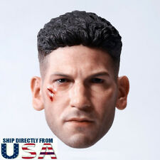 1/6 CUSTOM Punisher Head Sculpt Jon Bernthal For Hot Toys PHICEN Male Figure USA