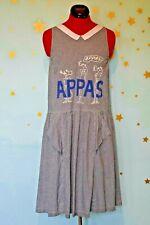 80s vintage appas very cute kooky   dress