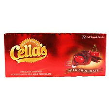 Cellas Milk Chocolate 1 Ct Each ( 72 In A Pack )