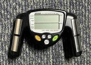 OMRON HBF-306C Handheld Body Fat Loss BMI Monitor Tested/Working
