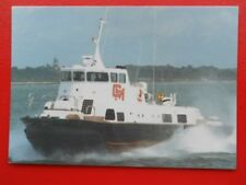 POSTCARD SIDEWALL HOVERCRAFT BUILT FOR OPERATIONS IN ARABIAN GULF