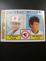 1984 Topps Cal Ripken #426 Baseball Card Well Centered Sharp Corners