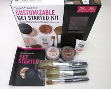 bare Minerals CUSTOMIZABLE GET STARTED KIT 7-PC * Medium Beige Full Sz * $145