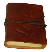 Ganesha Handmade Leather Journal Blank Paper Diary Sketchbook Notebook L444-0015
