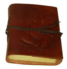 Ganesha Handmade Leather Journal Blank Paper Diary Sketchbook Notebook L444-0015