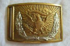 ANTIQUE CIVIL WAR CIVIL WAR 1851 OFFICERS & ENLISTED SWORD BELT BUCKLE
