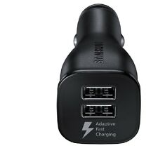 Original Samsung Galaxy S7/S7 Edge Fast Charge Dual-Port Car Charger EP-LN920
