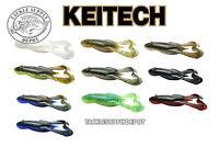 KEITECH Frog Noisy Flapper Top Water Soft Buzz 3.5 inch 5pk JDM - Pick