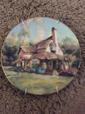 1990 THE HAMILTON COLLECTION THE PERIWINKLE TEA ROOMS BY MARTY BELL PLATE
