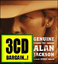 ALAN JACKSON (3 CD) GENUINE : THE ALAN JACKSON STORY with BOOK *NEW*
