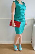 Brand New Green / turquoise Gina Bacconi dress size 12