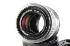 Olympus M.Zuiko Digital 45mm f/1.8 MSC AF FIX Prime Lens for m4/3 w/ Caps