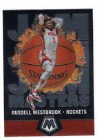 2019-2020 Panini Mosaic Basketball Jam Masters Insert Russell Westbrook #5