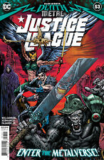 Justice League #53 Dark Nights Death Metal tie in Dc Comic 1st Print 2020 Nm
