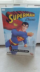 "DC Direct Superman Classic 13"" Deluxe Collector Figure  NIB"