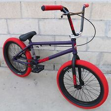 "2018 STRANGER BMX BIKE LEVEL FREECOASTER 20"" INDIGO BICYCLE SUNDAY KINK FIT CULT"