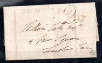 GB 1835 Entire 2d Paid Pall Mall Cachet to Lincoln WS12884