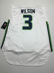 Russell Wilson Seattle Seahawks Nike Jersey XL NFL Football Womens 8234a NWT