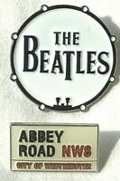 BEATLES Rock Band Lapel Pin Set of 2 (Lennon - McCartney - Harrison - Starr)
