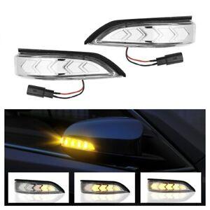 LED Dynamic Side Mirror Turn Signal Light For Toyota Camry Avalon Scion iM Venza