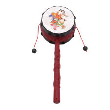 Chinese Old Rattle Drum Hand Shake Toy for Children one