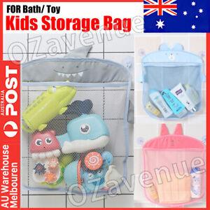 Baby Kids Bath Toy Holder Storage Bag Net Organiser Hanging Bathroom Shower Mesh