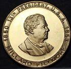 Millard Fillmore 13th President Bronze Medallion~Passed Fugitive Slave Bill~Fr/S