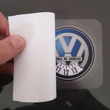 Disco Orario Adesivo Gadget Auto Personalizzato Volkswagen