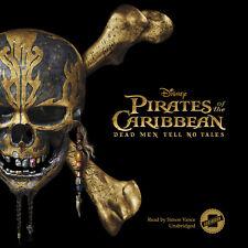 Pirates of the Caribbean: Dead Men Tell No Tales by Elizabeth Rudnick 2017 Unabr