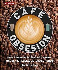 Cafe obsesion. NUEVO. Nacional URGENTE/Internac. económico. GASTRONOMIA