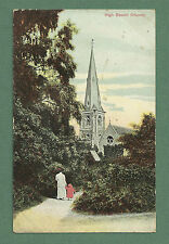 1907 POSTCARD HIGH BEECH CHURCH (ALT. HIGH BEACH), EPPING FOREST, ESSEX